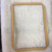 Gabarito MDF tipo moldura -  21x29,7cm - A4 - Encadernação e Cartonagem