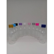 Garrafinhas para Lembrancinhas PET de 50 ml Plástica kit C/ 10 Unidades
