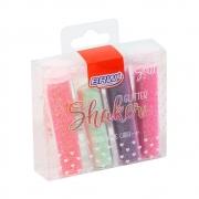Glitter Poliester Shaket Pastel 7g 4 cores Blister GL0501- BRW
