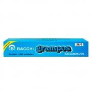 Grampo para Grampeador 26/6 Galvanizado - 1000 Grampos 21519 - BACCHI
