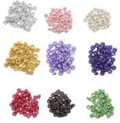 Ilhós Aluminio 3/16 50 Pçs. Crop E Alicates
