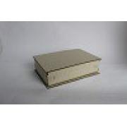 Kit Cartonagem - Caixa Livro 16X16X3 - 5 unidades