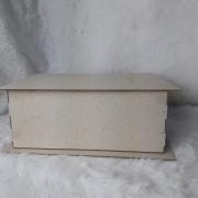 Kit Cartonagem - Caixa livro  22x16x9 - 5 unidades