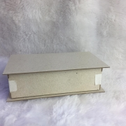 Kit Cartonagem - Caixa Maleta 17,5x10x5,5 - 5 unidades