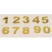 Números em Acrílico 3cm com 5 unidades