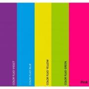 Papel Color Fluo - A4 - 180g/m² - 10 Folhas