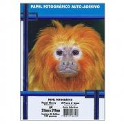 Papel Fotográfico 130 gr A4 Auto Adesivo - Pacote com 50 folhas - Masterprint