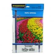 Papel Fotográfico Inkjet A4 Matte 170g - Pacote com 100 folhas - Masterprint