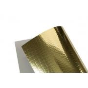 Papel Lamicote Crocodilo Ouro 255g A4 com 10 folhas