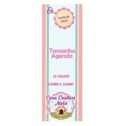 Papelão Cinza Tipo Holler - Agenda ou Caderneta de Vacina -  15,5x21,5cm - Cartonagem - 10 folhas