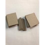 Papelão Cinza Tipo Holler - Post it - 4,5 x 5,5 cm - 12 conjuntos