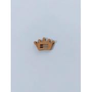 Passante para Elástico - Coroa - 2cm (5 unidades) em MDF
