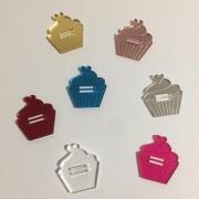 Passante para elástico - Cupcake - 2cm (5 unidades)