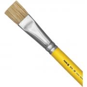 Pincel Artesanal Chato 815 N°20 - Amarelo - Tigre