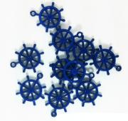Pingente Plástico Leme c/ 10 unidades
