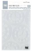 Placa para Relevo 2D Elegance - 127x177mm - Relógio Vintage I - Toke e Crie