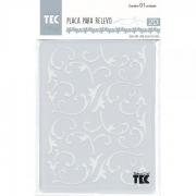 Placa para Relevo 2D Elegance - 127x177mm - Videira - Toke e Crie