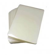 Plástico polaseal 0.10 80x110mm RG/Título Eleitor - 100 unidades