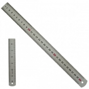 Régua em metal - 30cm