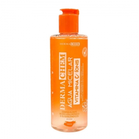 Água Micelar Vitamina  C Íons 250ml - Derma Chem