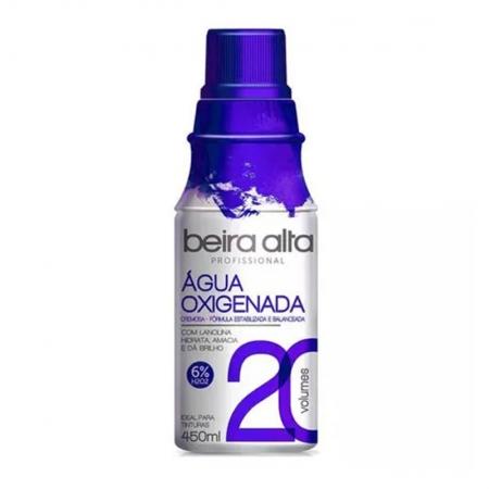 Agua Oxigenada 20 Volumes 450ml - Beira Alta
