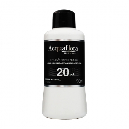 Água Oxigenada Emulsão Reveladora 20vol. 90ml - Acquaflora