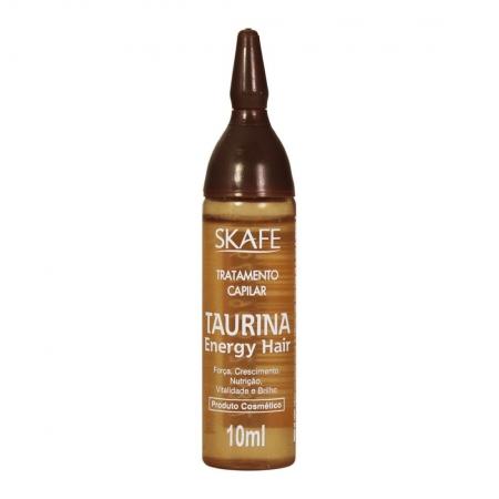 Ampola de Tratamento Capilar Energy Hair Taurina 10ml - Skafe