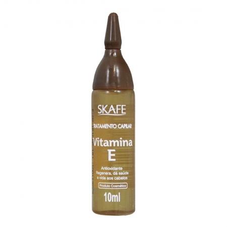 Ampola de Tratamento Capilar Vitamina E 10ml - Skafe