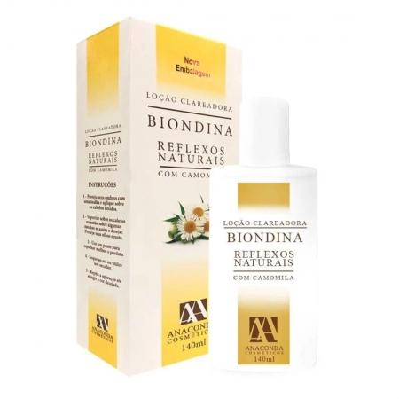 Clareador Reflexos Naturais Biondina Refil 140ml - Anaconda