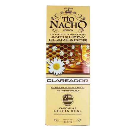 Condicionador Tío Nacho Antiqueda Clareador 415ml -Tio Nacho