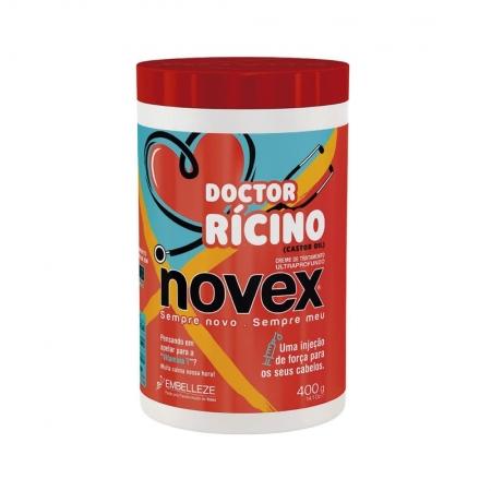 Creme de Tratamento Novex Doctor Rícino 400g - Embelleze