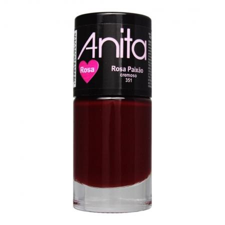 Esmalte Cremoso Coleção Rosa Rosa Paixão 10ml - Anita