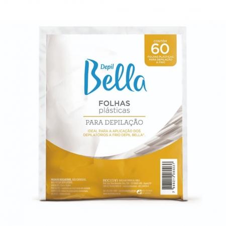 Folhas Plásticas para Depilação 60 Unidades - Depil Bella