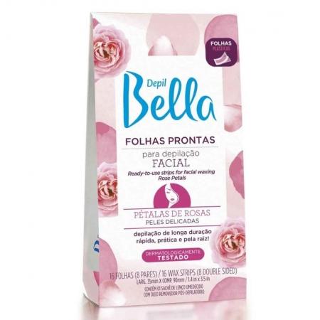 Folhas Prontas Para Depilação Facial Pétalas de Rosas - Depil Bella