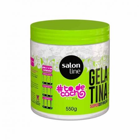 Gelatina #todecacho Super Definição 550g - Salon Line