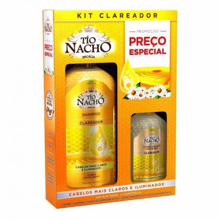 Kit Shampoo e Condicionador Clareador - Tío Nacho