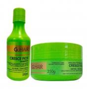 Kit Shampoo e Máscara Cresce Fios 250ml - G.Hair