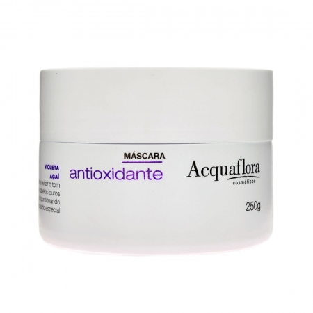 Máscara Hidratação Antioxidante Prevenção e Eliminação do Amarelado 250g - Acquaflora