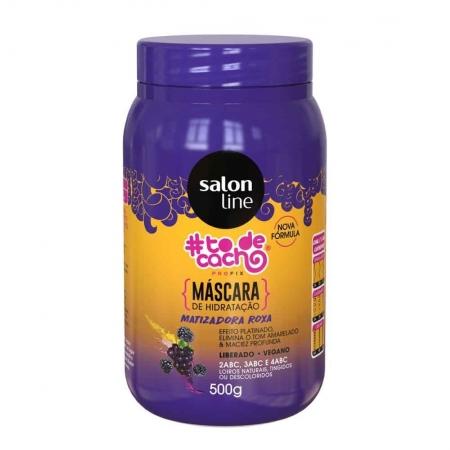 Máscara Matizadora Roxa Capilar #Todecacho 500g - Salon Line
