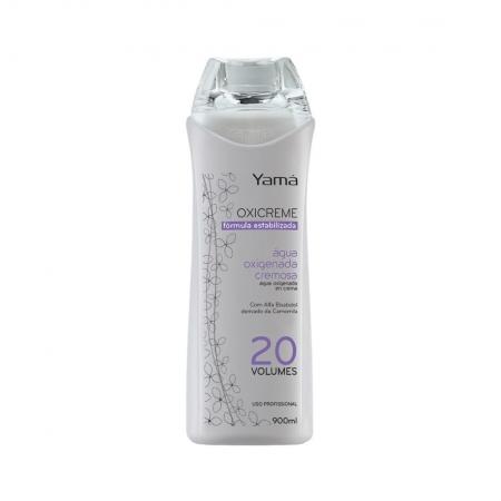 Oxicreme Água Oxigenada Cremosa 20 Volumes 900ml - Yamá