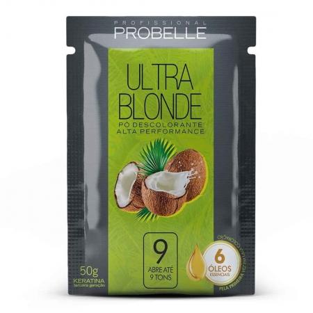 Pó Descolorante Ultra Blonde Coco 50g - Probelle