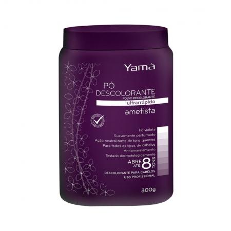 Pó Descolorante Ultra Rápido Ametista 300g - Yamá