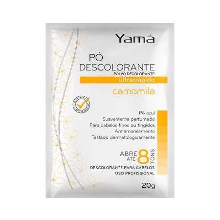 Pó Descolorante Ultra Rápido Camomila 20g - Yamá