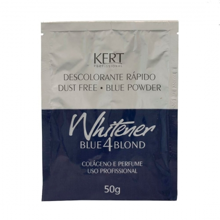 Pó Descolorante Whitener Blue for Blond 50g - Kert