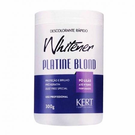 Pó Descolorante Whitener Platine Blond 300g - kert