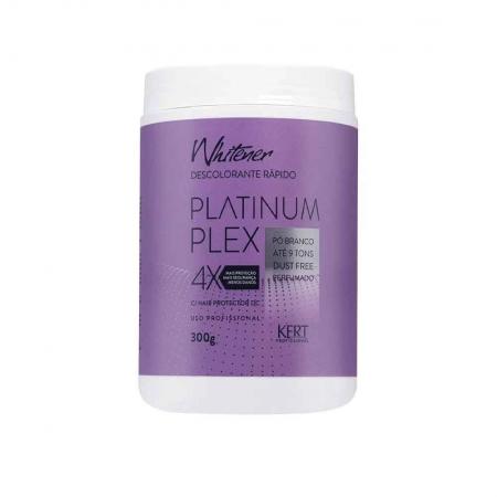 Pó Descolorante Whitener Platinum Plex 300g - kert