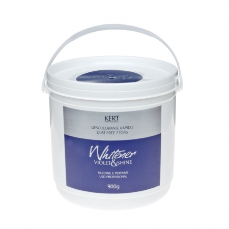 Pó Descolorante Whitener Violet & Shine 900g - Kert
