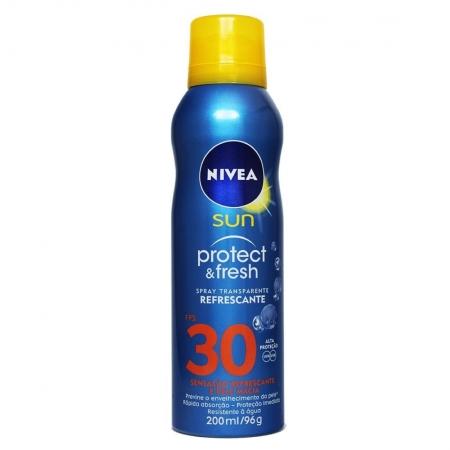 Protetor Solar em Spray Sun Protect e Fresh FPS 30 200ml - Nivea