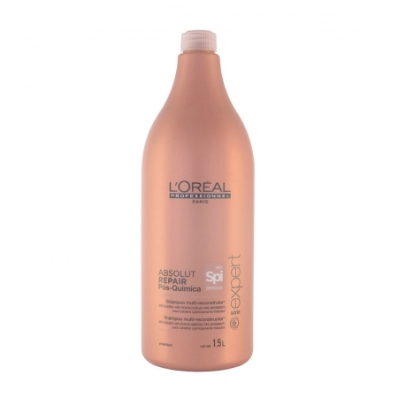 Shampoo Absolut Repair Pós-Química 1,5L - L'Oréal Professionnel
