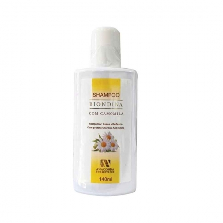 Shampoo Biondina 140ml - Anaconda